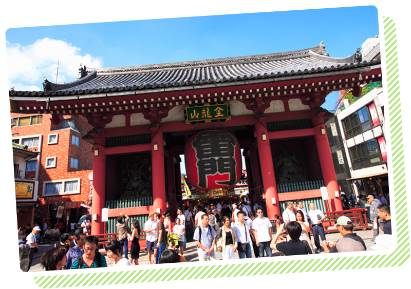 修学旅行から遠足まで、日本全国ご案内!