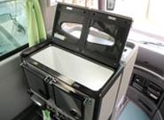 大人数にふさわしい余裕の冷蔵庫も完備
