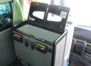テレビ・カラオケはもちろん、快適な旅行に欠かせない 冷蔵庫も完備